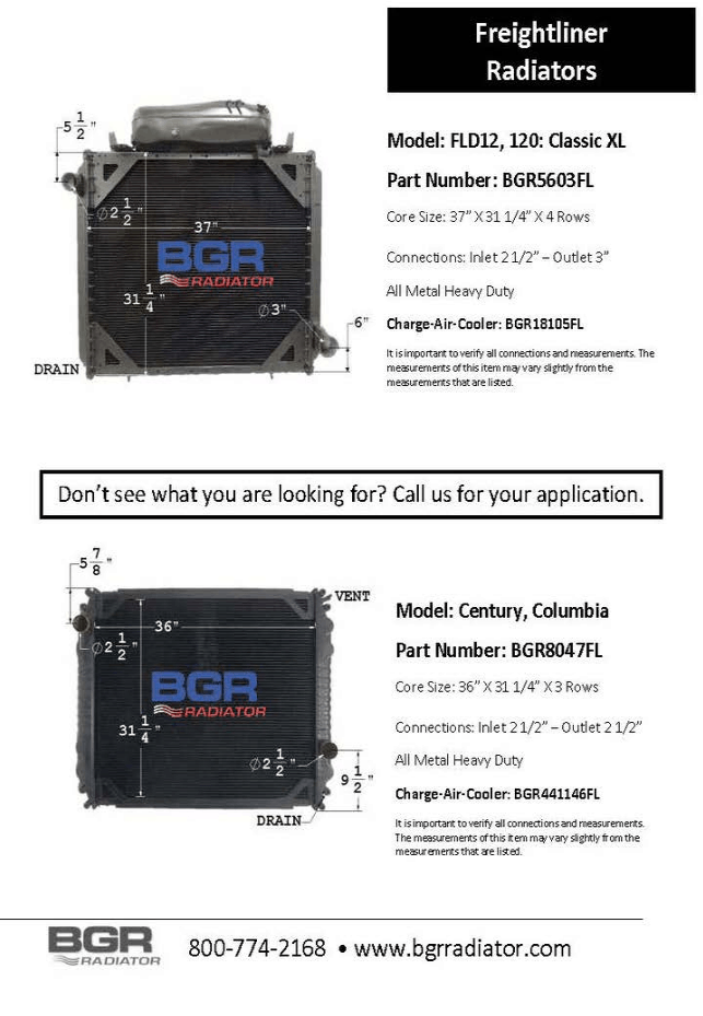 FLD12, 120 CLASSIC XL BGR5603FL-8047FL