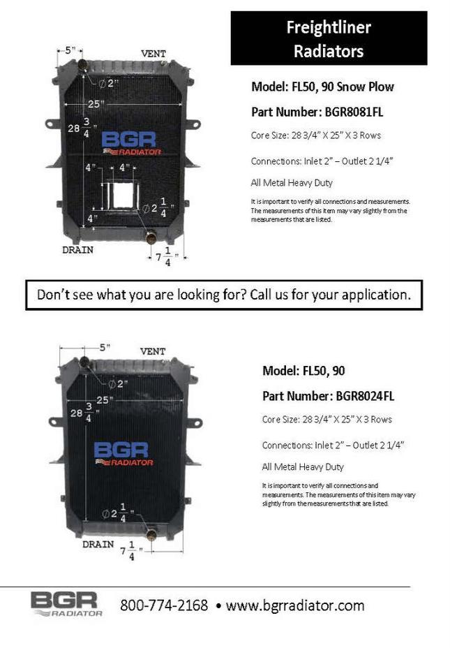FL50, 90 SNOW PLOW BRG8081FL-8024FL